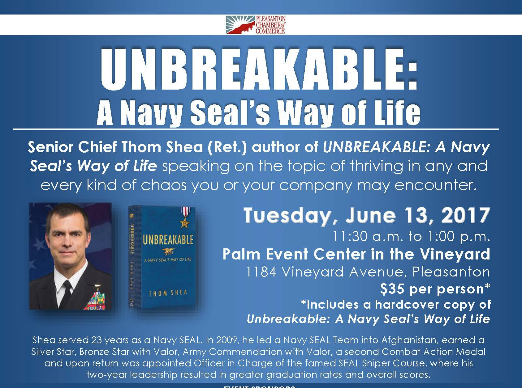 Unbreakable: A Navy Seal's Way of Life