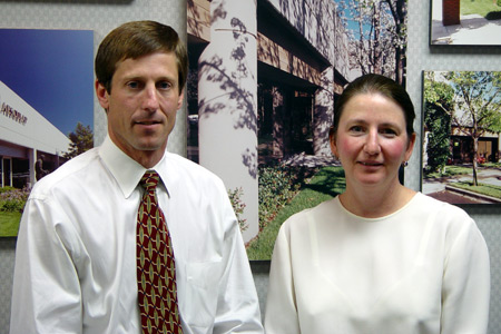 Donna Batchelor and Scott Graeser