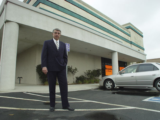 Uwe Waizenegger, Owner Of Mercedes Benz Of Pleasanton, Stands Outside Their  New Owens Drive Facility.