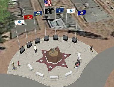 Pleasanton Veterans Memorial