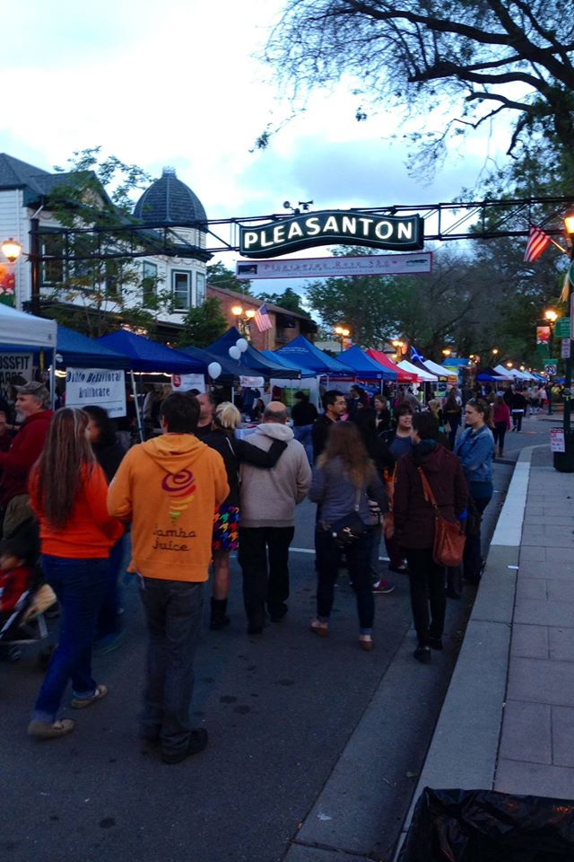 1st Wednesday Street Parties