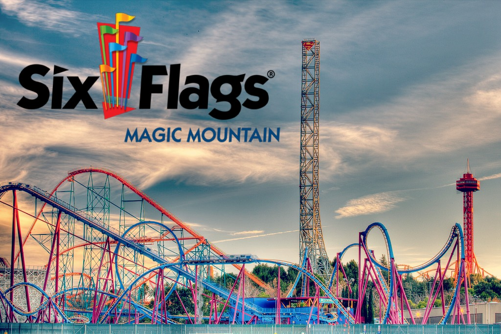 Hacienda Is Delighted To Present Our Partnership With Six Flags Magic Mountain From Massive Monster Coasters Like Full Throttle The Worlds Tallest And